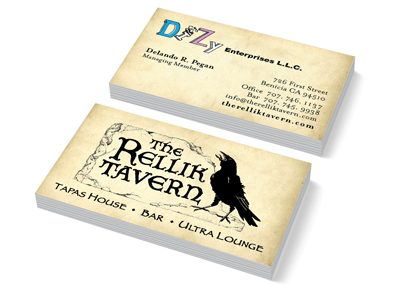 Business cards Benicia