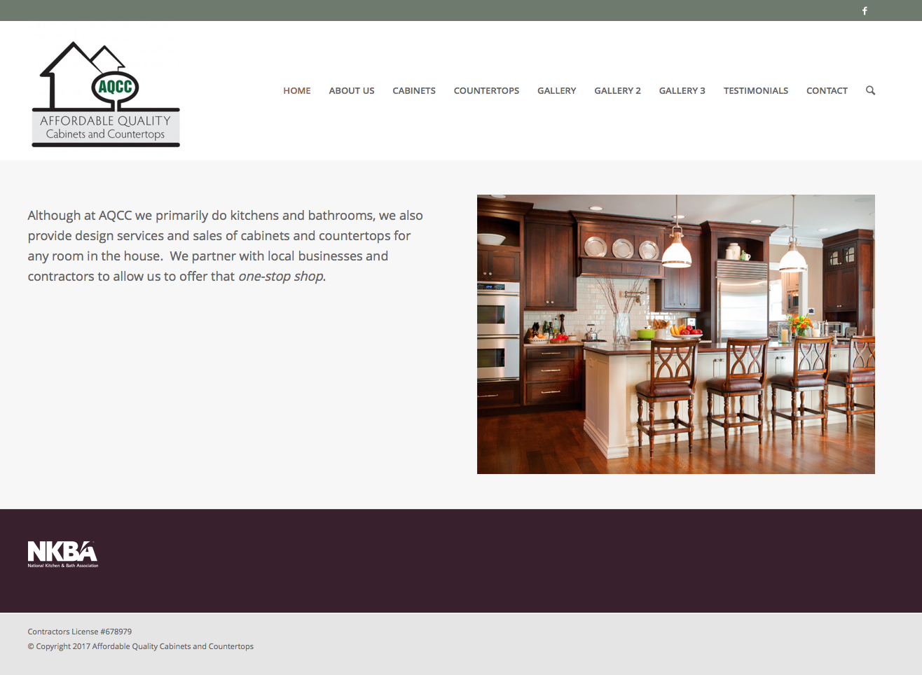 Affordable Quality Cabinets And Countertops Website