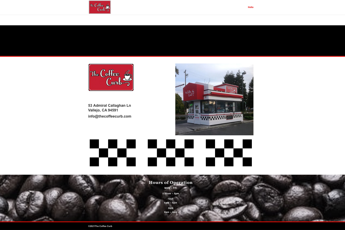 The Coffee Curb Website